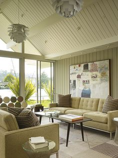 Gary Hutton Lagoon House - midcentury - living room - san francisco - Gary Hutton Design