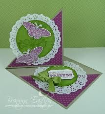 easel card tutorial stampin up - Google Search