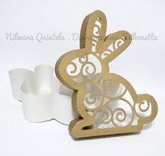 Diário de uma Silhouette: Caixa em formato de coelho