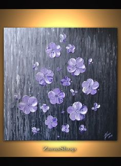 ORIGINAL textured wall art contemporary white by ZarasShop on Etsy, $255.00