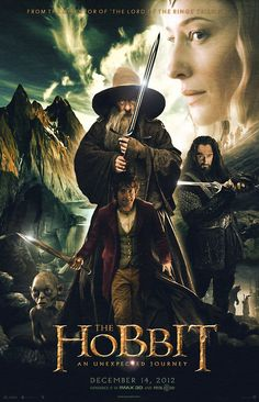 The Hobbit: An Unexpected Journey--Amazing movie!! Will have to read the book...