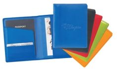 "Promotional Products Ideas That Work: Colorplay leather travel wallet - 4 1/2;"" x 6"". Get yours at www.luscangroup.com"