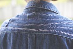 DIY Stitched shirt