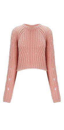 whistles resort 2014 pink mohair jumper