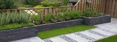Voor al uw tuinwensen Landscape Design, Garden Design, Small Gardens, Diy Design, Sidewalk, Patio, Decks, Garden Ideas, Diy Ideas