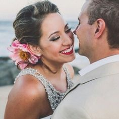 Newlyweds Happiness! #Makeup by Olga Bustos #MakeupArtist in #Cabo