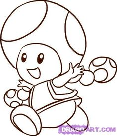 Toad coloring pages - Google Search