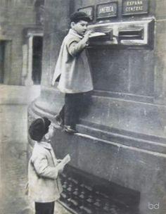 Correos, via Laietana, Barcelona 50s