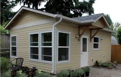 How To Fit Four Rooms Into A Cottage Under 400 SF - Backyard Real Estate - Curbed Seattle