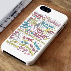 5SOS Good Girls Lyrics | iPhone 4 Case | iPhone 5 Case | iPhone 5C Case | iPhone 6 Case | Samsung Galaxy S4/S5 Cases - lovedrstyle