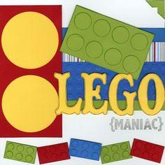 Lego layout page 2 Circle Scrapbook, Scrapbook Frames, Baby Boy Scrapbook, Disney Scrapbook Pages, Birthday Scrapbook, Scrapbook Sketches, Scrapbook Page Layouts, Travel Scrapbook, Scrapbook Paper Crafts
