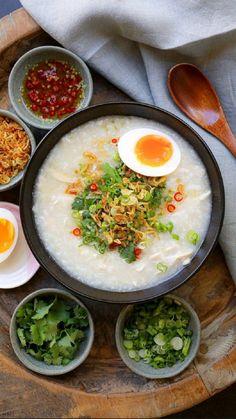 Asian Recipes, Healthy Recipes, Ethnic Recipes, Filipino Recipes, Kimchi Recipe, Porridge Recipes, Good Food, Yummy Food, Aesthetic Food