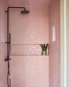 decor boho decor design ideas niche decor decor target decor quilt decor cheap bathroom decor decor ideas you tube Bad Inspiration, Bathroom Inspiration, Bathroom Ideas, Bathroom Pink, Modern Bathroom, Master Bathroom, Target Bathroom, 1920s Bathroom, Paris Bathroom