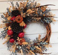 Front Door WreathYear Round WreathRustic WreathSpring