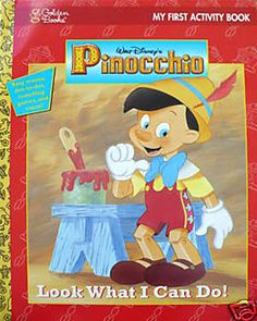 Pinocchio Activity Book