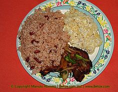 Belize - rice and beans