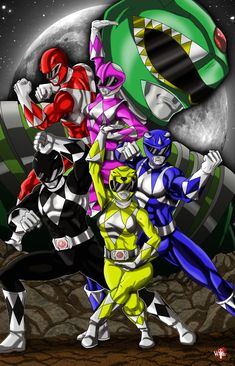 Go Go Power Rangers, Mighty Morphin Power Rangers, Green Power Ranger, Power Rangers Megazord, Tommy Oliver, Future Soldier, Cartoon Games, 90s Kids, Comic Book Characters