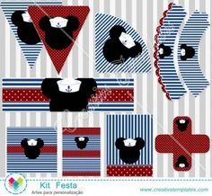 Kit festa Mickey Cruise mod:796