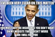 ....you must buy the insurance you don't want....