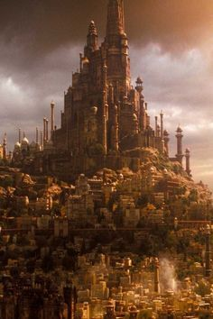 Fantasy Cities and Landscapes on Pinterest | Fantasy City, Fantasy ...