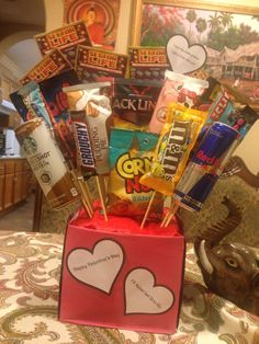 V-day goodies for the King