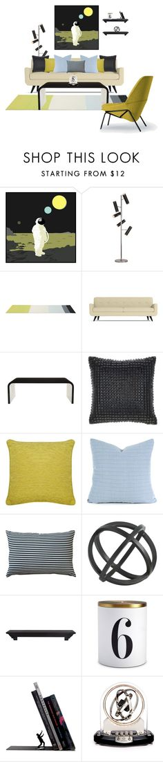 Three Planets by she-kills-monsters on Polyvore featuring interior, interiors, interior design, home, home decor, interior decorating, Jayson Home, Renwil, Olsson and Catherine Malandrino