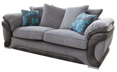 This Silver Grey Fabric Sofa From Furniture Choice Is Made In The Uk Http