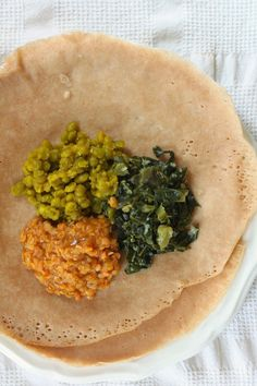 The recipes I've been dreaming to find: vegan Ethiopian trio with quick injera
