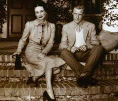 The Duke of Windsor (formerly King Edward VIII) and Wallis Simpson