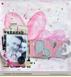 Scrapbook page by Donna