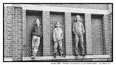 Photo 68 of 365  HANSON 1994 - MmmBop Independent Album Promo Shoot - Richmond VA    In this photo we began a long tradition of climbing onto things to take pictures. Who knows what songs were on the original MmmBop album, but not included in the 3 Car Garage Indie Recordings re-release album?    #Hanson #Hanson20th