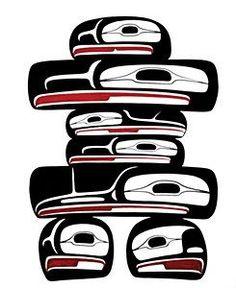 Native American Inukshuk.