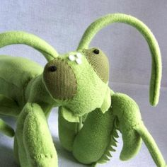 gorgeous praying mantis softie