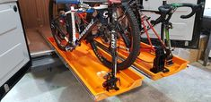 Bike/Gear Tray - GRP-Direct Campervan Ideas, Mounting Brackets, Camper Van, Gears, Tray, Home Appliances, The Unit, Bike, Veil