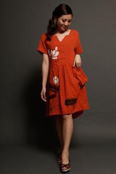 maxi dress summer dress womens plus size dress maxi by MissLinen