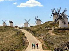 Consuegra, La Mancha, Spain