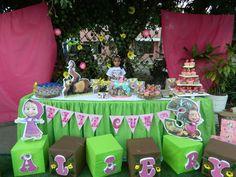 Birthday Cake, Table Decorations, Food, Home Decor, Masha And The Bear, Birthday Cakes, Decoration Home, Room Decor, Eten