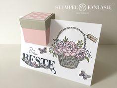 Box in a Card mit liebem Gruß