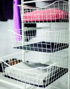 Plastic Laundry Basket, Bunk Beds, Organization, Home Decor, Getting Organized, Organisation, Decoration Home, Double Bunk Beds, Room Decor