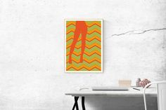 Legs and zig-zag by MSaHomeDesign on Etsy