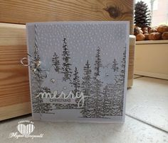 Magical Scrapworld: Merry Christmas, Stampin' Up!, flurry of wishes, holly jolly greetings, softly falling, Wonderland