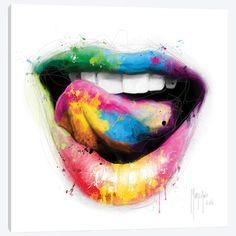 Sky Artist Canvas Artwork by Vlada Haggerty Artist Canvas, Canvas Artwork, Walpapper Tumblr, Murciano Art, Patrice Murciano, Lips Painting, Dental Art, Desenho Tattoo, Eye Art