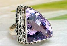 amethyst jewelry by trudy Amethyst Jewelry, Amethyst Rings, My Birthstone, Shades Of Purple, Purple Haze, All Things Purple, Schmuck Design, Violet, Artisan Jewelry