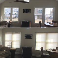 ASAP Blinds | Roller shades in a new home.