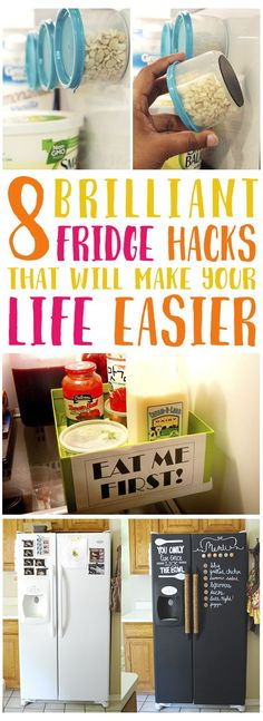 These are some great ideas! I need to do all of these. Especially the magnets!