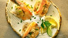 Butterflied Shrimp with Smoked Gouda -