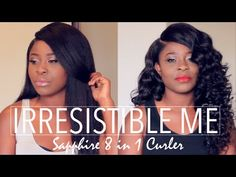 REVIEW | Irresistible Me Sapphire 8 in 1 Curler + GRWM - YouTube