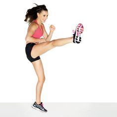 Kick up your heels for the revolutionary new workout plan that can help you drop two sizes! http://www.womenshealthmag.com/fitness/drop-two-sizes