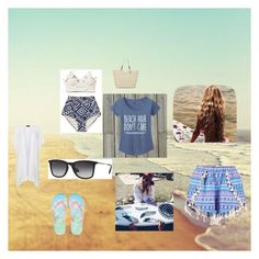 """""""Beach Hair Dont Care"""" by emma-victoria-e on Polyvore"""