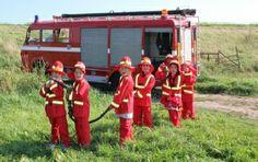 Kinderfeestje met brandweerauto